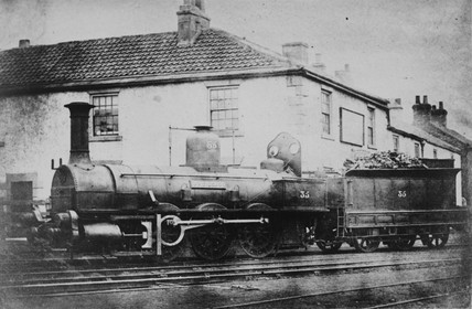 Stockton & Darlington Railway 0-6-0 no. 35.