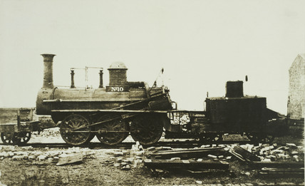 Stockton & Darlington Railway locomotive no. 10.