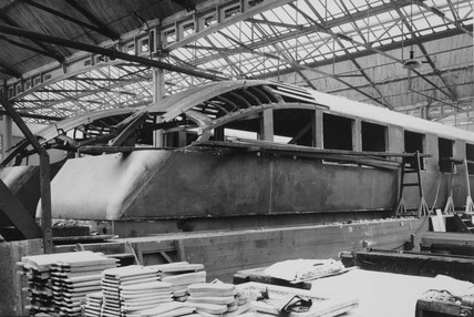 LNER 'Coronation' observation cars Doncaster,  10 May 1937.