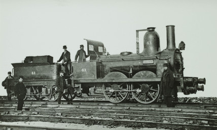 Stockton & Darlington 0-4-0 no. 41 'Dart'.