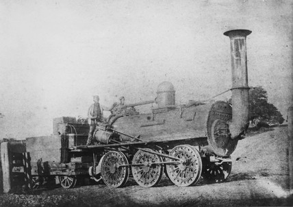 Stockton & Darlington 0-6-0 no. 9 'Milddlesbrough'.