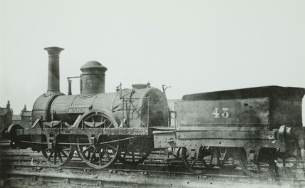 Stockton & Darlington 2-2-0 no 43 'Sunbeam'.