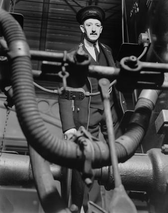 A LMS guard, 1938.