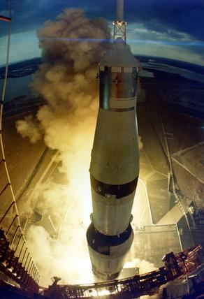 Launch of Apollo 14 Saturn V, 31 January 1971.