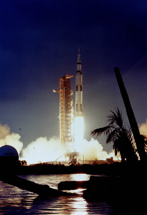 Apollo 14 Saturn V launch, 31 January 1971. at Science and ...