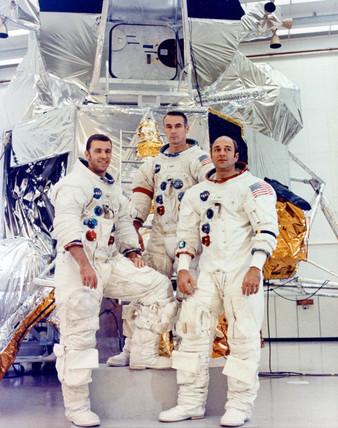 Apollo 14 backup crew, 22 January 1971.