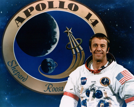 Apollo 14 astronaut Al Shepard, December 1970.
