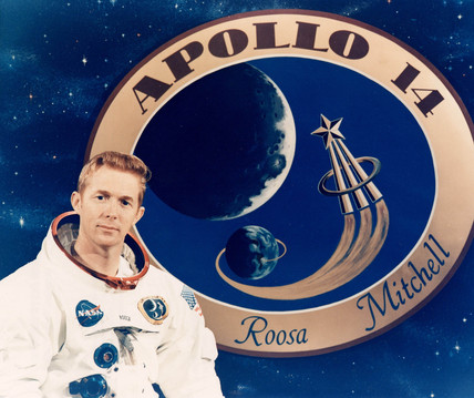 Apollo 14 astronaut Stu Roosa, December 1970.