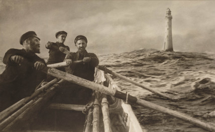 'The Relief Boat', c 1911.