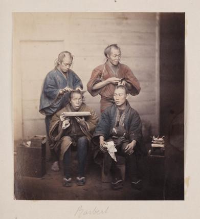 'Barbers', 1864-1867.