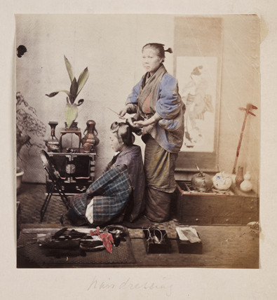 'Hairdressing', 1864-1867.