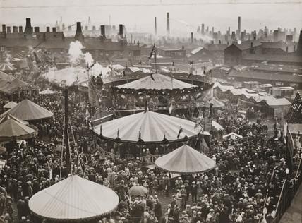 Fairground, 9 August 1934.