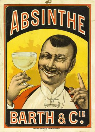 'Absinthe Barth & Cie', c 1890.