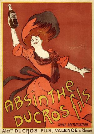 'Absinthe Ducros Fils - Le Cri de Paris', 1902.