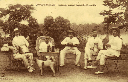 Absinthe in the French Congo, c 1900.