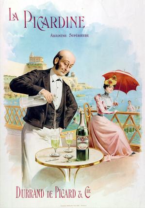 'Absinthe La Picardine', c 1900.