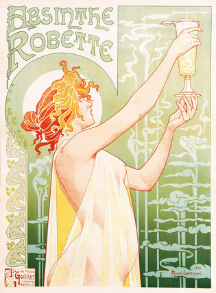 Absinthe Robette, 1896.