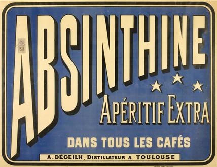 'Absinthine Aperitif Extra', 1893.