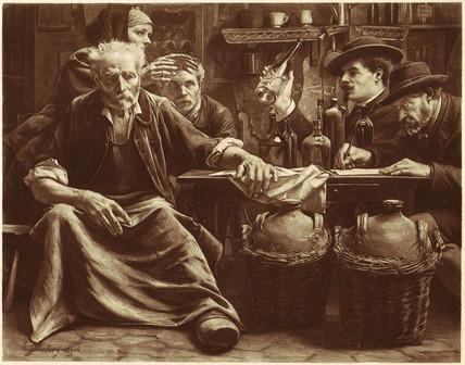 'L'Inquisition chez les bouilleurs de cru' 1904.
