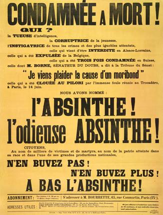 'L'Odieuse Absinthe', 1907.