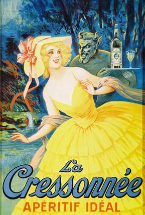 'La Cressonnee, Aperitif Ideal', 1924.