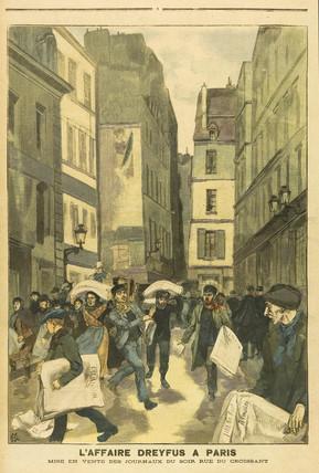 Dreyfus Affair news, 10 September 1899.
