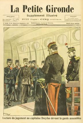 Reading of the Dreyfus Judgement, 24 September 1899.