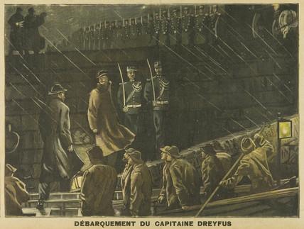 Dreyfus landing, 9 July 1899.