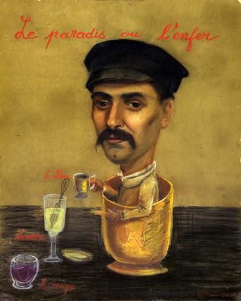 'Le Paradis ou L'Enfer', 1910.