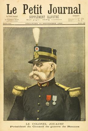 Colonel Jouaust, 10 September 1899.