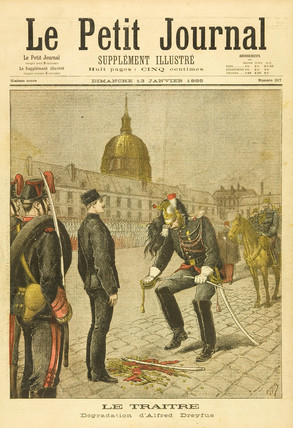 Dreyfus the Traitor, 13 January 1895.