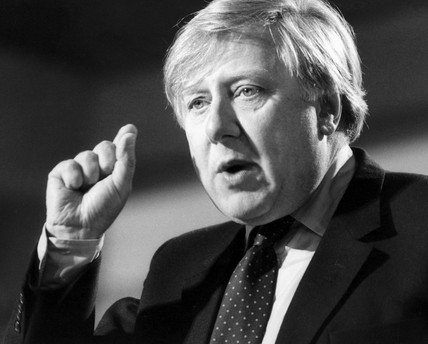 Roy Hattersley, October 1984.