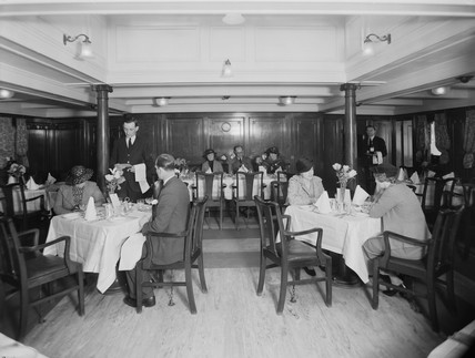 St David (II) Ferry Dining Saloon.