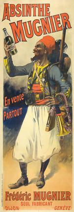 'Absinthe Mugnier', 1895.