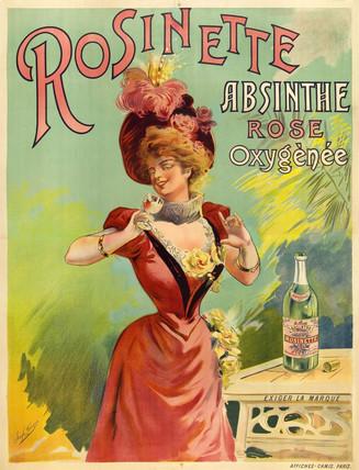 'Absinthe Rosinette', c 1900.