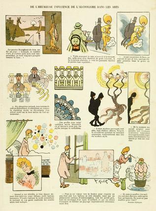 'L'Heureuse Influence de l'Alcoolisme dans les Arts', 1904.