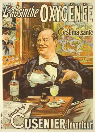 'L'Absinthe Oxygenee Cusenier', 1896.