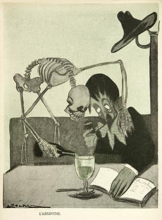 'L'Absinthe', 1903.