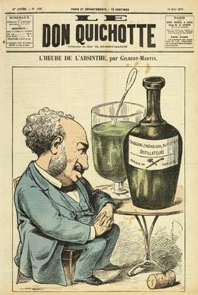 'L'Heure de l'Absinthe', 1877.