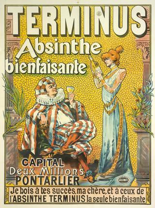 'Terminus Absinthe Bienfaisante', 1892.