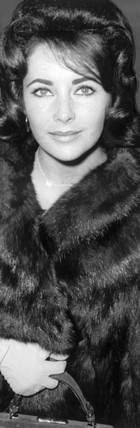 Elizabeth Taylor at London Airport, 29 November 1960.