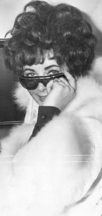 Elizabeth Taylor, 4 February 1968.
