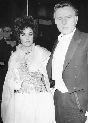 Elizabeth Taylor and Richard Burton, 27 February 1967.