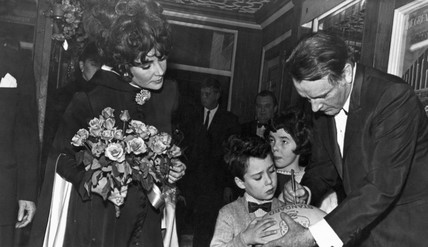 Elizabeth Taylor and Richard Burton, 3 March 1968.