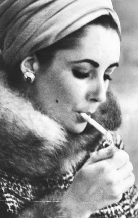 Elizabeth Taylor, 1 February 1965.