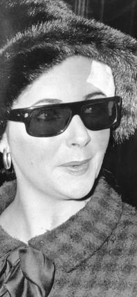 Elizabeth Taylor, 8 January 1965.