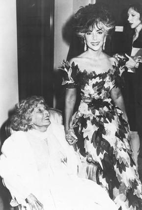Elizabeth Taylor, January 1988.