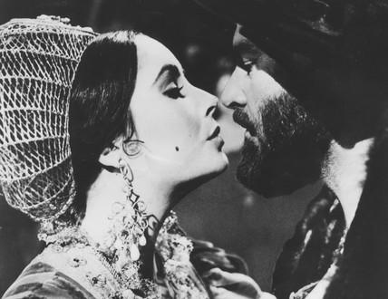 Elizabeth Taylor and Richard Burton, March 1967.