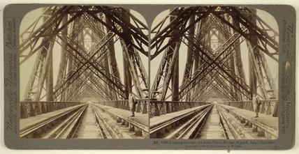 Forth Bridge, late 19th century.