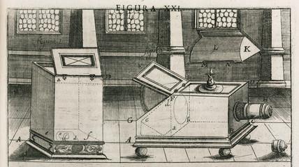 Camera obscuras, 1685.